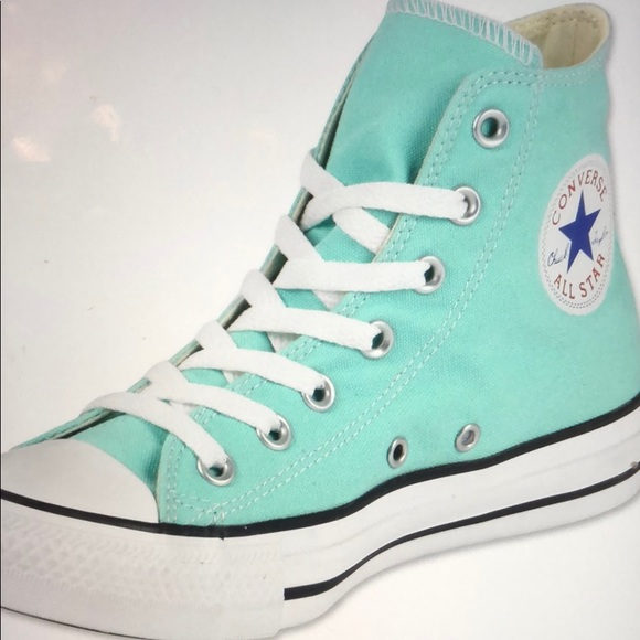 CONVERSE ALL STAR Mint High Tops
